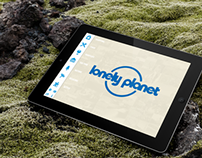 Lonely Planet concept app