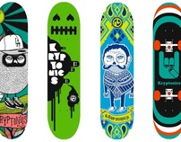 Kryptonics Skateboards.....