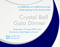 Gala Dinner Event - INVITATION DESIGN