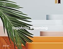 Logofolio & naming 2019-2020