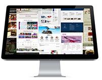 Galleria grafica siti web