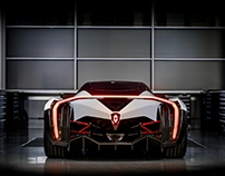 Electric Hypercar - Exterior & Interior Design