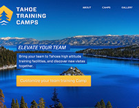 Tahoe Training Camps Brand Identity