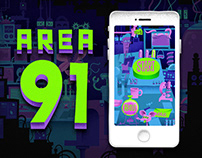 AREA91|Interactive Alien Research App