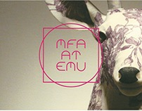 MFA Promotional Material Postcard