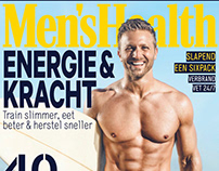 + MEN'S HEALTH - COVER +