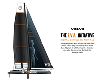 Raceboat Graphics - Volvo E.V.A Initiative