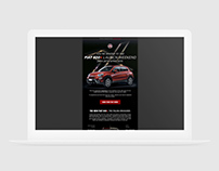 Fiat 500X - Launch Weekend Email