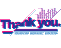 Thank You - T-shirt design