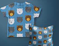 Circle animals - children's patterns