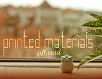 Print / Cards