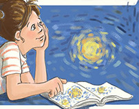 Banner Illustration for MO SCBWI