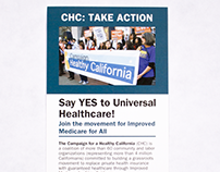 "CHC ""Take Action"" Card"