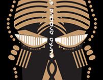 Aya FERN Africa Surfa Groova Mask Table