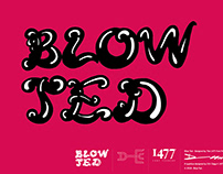 Blow Ted Typeface Design