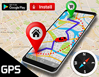 GPS Route Finder App: Directions, Navigation Maps, Rout