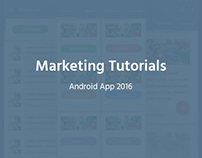 Marketing Tutorials Android App - 2016