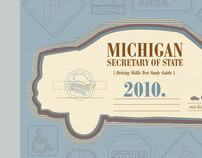 Michigan Secretary of State Driver's Guide Re-design