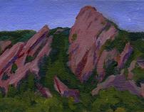 Boulder Flatirons