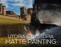 Utopia & Dystopia Matte Painting