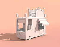 Modeling Van Cartoon