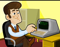 Ilustrações para curso de EAD - Redes e Computadores