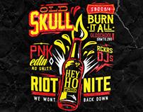 Old Skull RIOT NITE