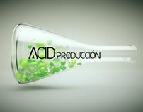 Acid Producción Rediseño de Identidad corporativa