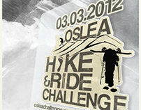 Print Media - Oslea Hike&Ride Challenge 2012