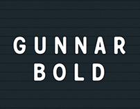 Gunnar Bold - Typeface