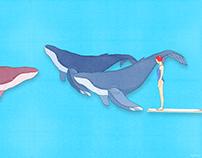 le nuotatrici