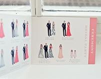 Brides Magazine Feature -Illustrated Program