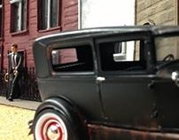 Bonnie & Clyde Scale Set Design
