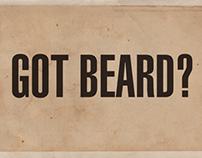 GOT BEARD?