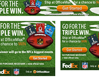 FedEx / NFL Banners