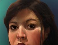 Self-Portrait with Danaerys's Necklace