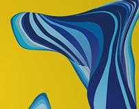Digital Art - Yellow&Blue