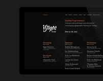 ISType 2013, Stroke — Web Site