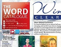 Word Bookstores Catalogue Redesign