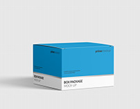 Package Box Mock-Up Vol. 4