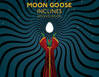 Moon Goose + Inclines Gig Poster