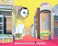 TOKYO WINTER POP - postcards