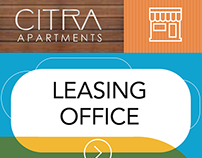 Pacific Urban—CITRA Apartment Signage Designs