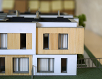 Architecture model - Zacisze Białystok