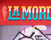 La Mordida Sign Painting