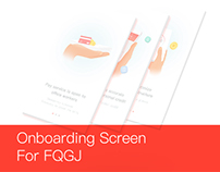 Onboarding  Screen For FQGJ