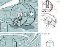 ANIMATION AND GAMES: CONCEPT ART FOR 3D SCENOGRAPHY