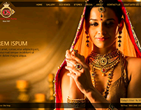 Microsite for Chandukaka Saraf Jewellers