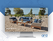 ARD Outdoor Furniture * Retail Website Design