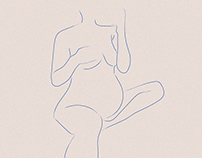Pregnant Illustrations series